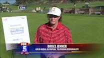 Bruce Jenner visits Torrey Pines and talks with FOX5