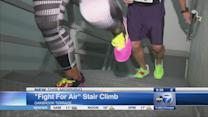 Fight For Air Stair Climb supports fight against lung disease