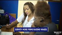 A three-day workweek? More firms giving pay raises