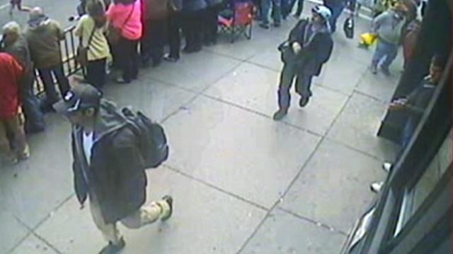 Boston Marathon Bombings: FBI Releases Images of Suspects