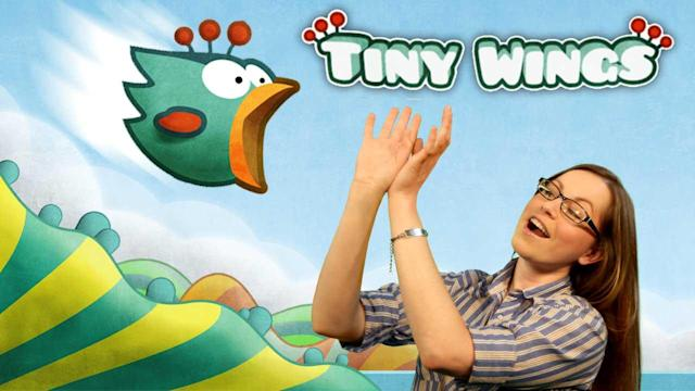 Tiny Wings HD for iPad Review! Multiplayer, New Levels & More Tiny Birds - Snapp