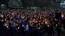 Students hold vigil for Rowan University student
