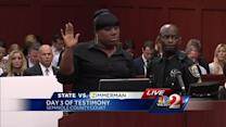 Friend who was on the phone with Trayvon Martin takes the stand in the George Zimmerman trial