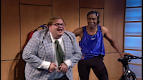 Matt Foley at the Gym