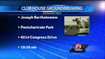 New Orleans leaders breaking ground on new Joseph Bartholomew Golf Course clubhouse