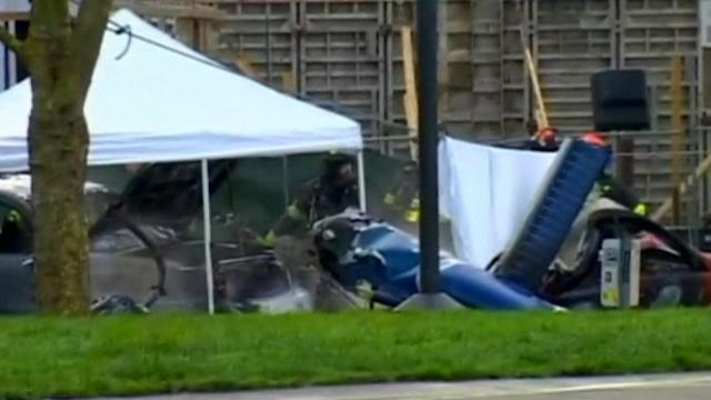 News helicopter crashes in downtown Seattle