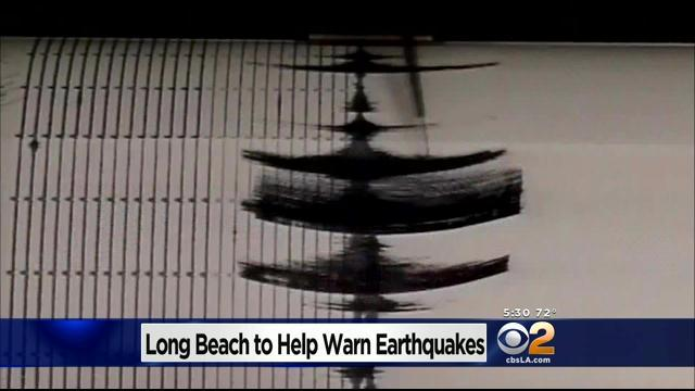 City Of Long Beach Selected As Beta Site To Test Earthquake Early Warning System