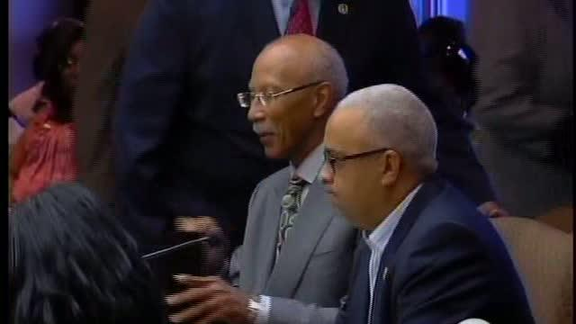 Mayor walks out of council meeting