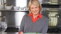 Martha Stewart's Salmon and Minted Pea Triscuit Recipe
