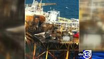 Cause of oil platform blaze still under investigation