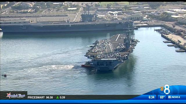 USS Ronald Reagan to move to Japan next year