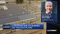 Canadian Solar surges on yieldco plans