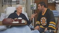 Adam Sandler and Bob Barker Recreated Their 'Happy Gilmore' Fight