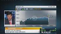 AT&T beats on earnings