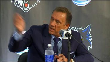 Flip Saunders Reintroduced As Wolves' Next Coach