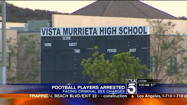High School Football Players Charged With Numerous Sex Crimes