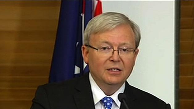 Rudd will stand for leader