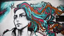 Rio street art displays a people's struggle in stunning style