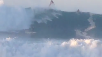 Surfers Ride Huge Hurricane Swell in Southern California