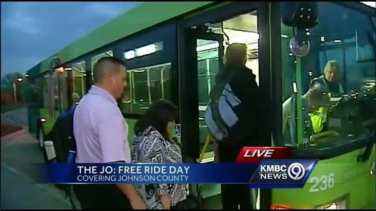 The JO offers free rides today