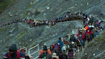 Amarnath Yatra begins from Jammu amid tight security
