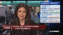 Crude inventories up ... again