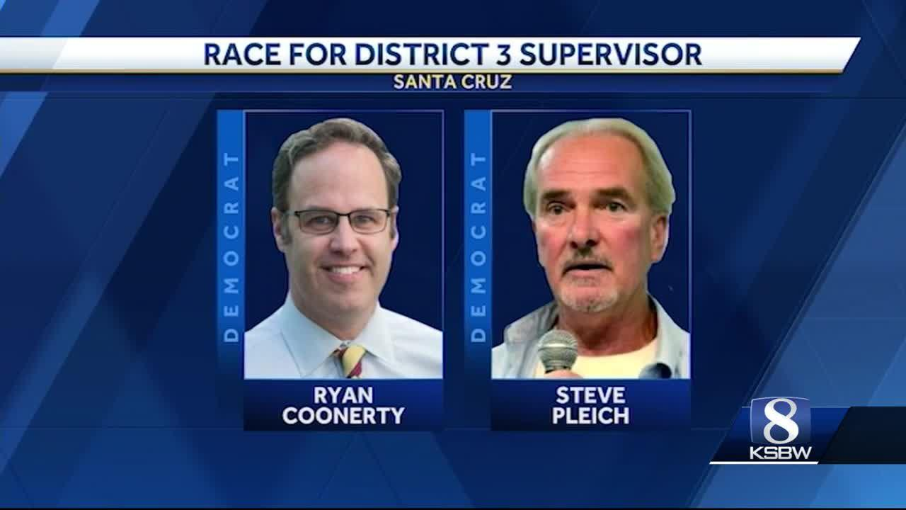 Santa Cruz County Supervisors Race: Coonerty vs  Pleich