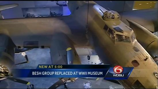 Besh restaurant to be replaced at National WWII Museum