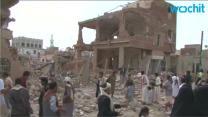 Saudi-led Air Strikes on Yemen Cities Kill 16: Houthis