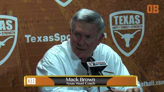 Mack Brown talks new NCAA rules