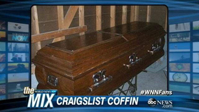Craigslist Coffin Sale Digs Up Controversy