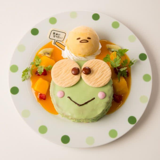 蛋黃哥大眼蛙咖啡蛋糕