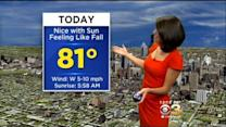 Kate's Wednesday Afternoon Forecast