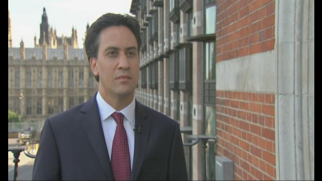 Miliband will support Syria military action if it is legal