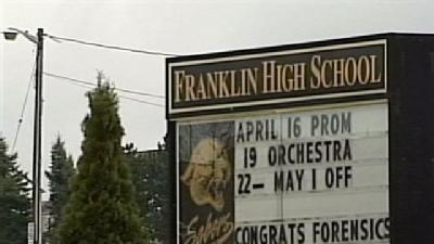 Franklin High School To Reopen Thursday With Metal Detectors
