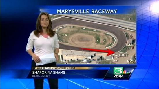 Investigators look at design of racetrack in crash that killed 2