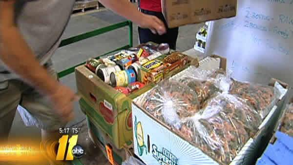 Area business works to bag hunger