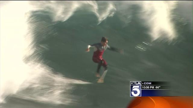 Wild Waves Expected to Pound SoCal Beaches