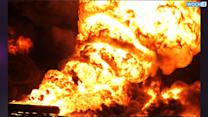 Taliban Insurgents Set Oil Tankers Ablaze In Afghanistan