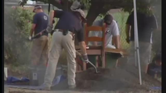 Human remains found in back yard