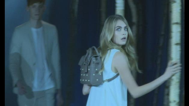 LFW: Cara Delevingne unveils three new Mulberry bags