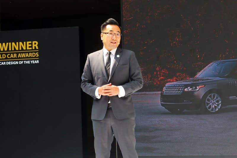 Jaguar Land Rover 台灣分公司總經理曹耀中。
