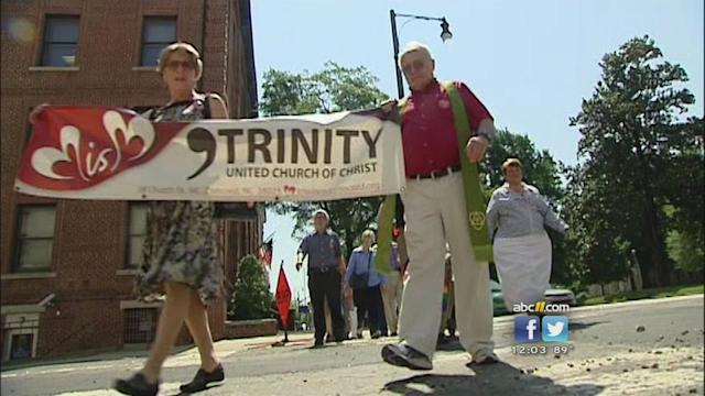 Group rallies in effort to end same-sex marriage ban