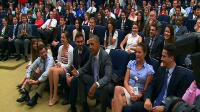 Raw: Obama at DC World Cup Watch Party