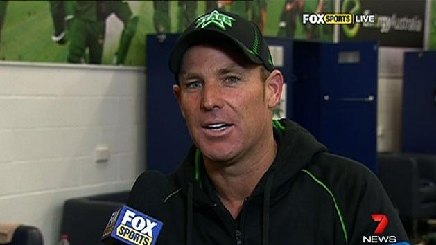 Warne apologises for Big Bash outburst