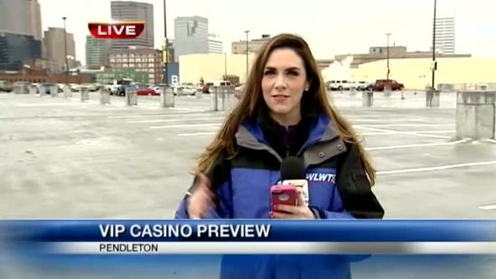 Casino test to test parking, traffic