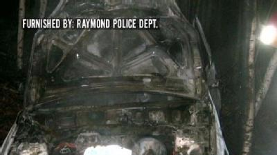 Raymond Police Officer Rescues Man From Burning Car