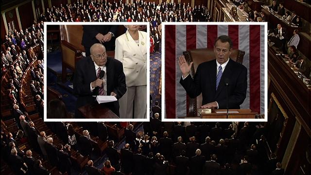 Boehner again sworn in as House speaker