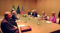 Kerry, Zarif meet in Switzerland for nuclear talks