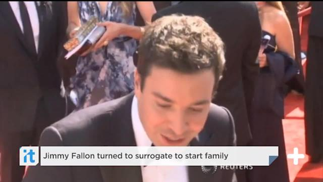 Jimmy Fallon turned to surrogate to start family